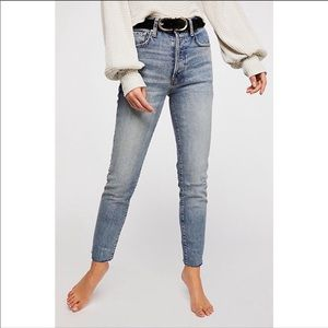 Free People Stella Skinny High Rise Jeans